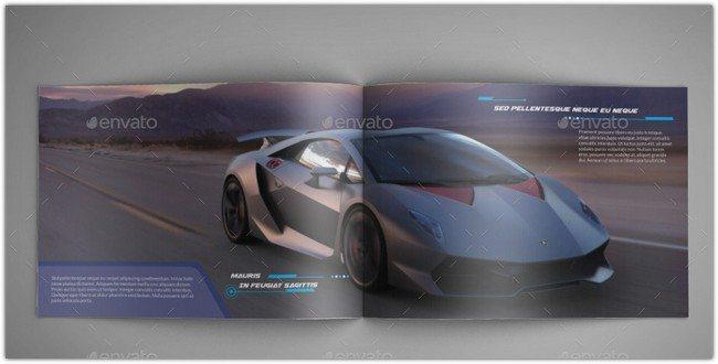 Luxury Car InDesign Catalog Template