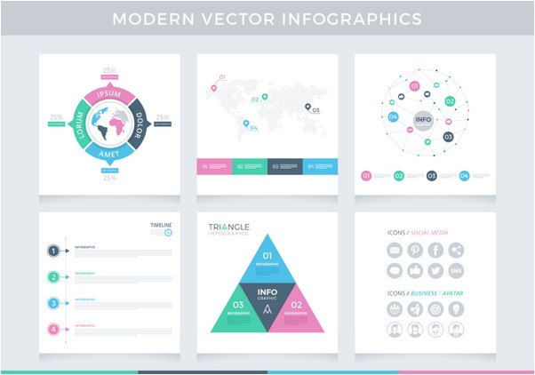 MODERN INFOGRAPHICS VECTOR PAC