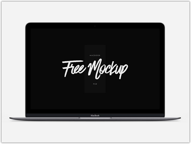 MacBook – 12 Scalable Mock-up