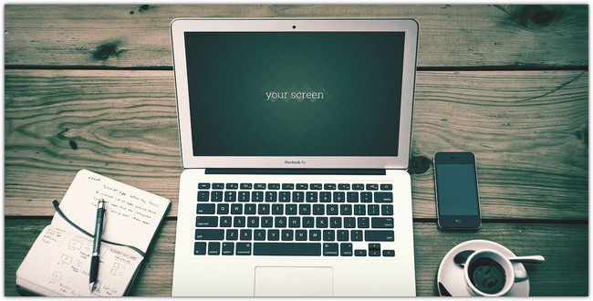 Macbook Air Photo Mockups