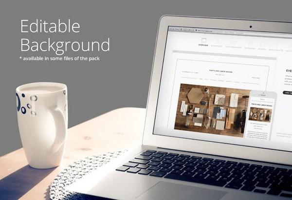 Macbook Pro – App Display Mock-Up