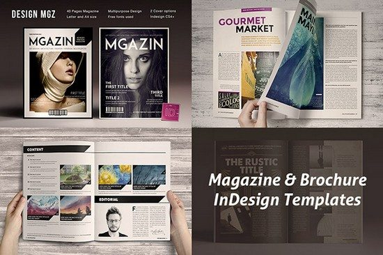 Magazine & Brochure InDesign Templates