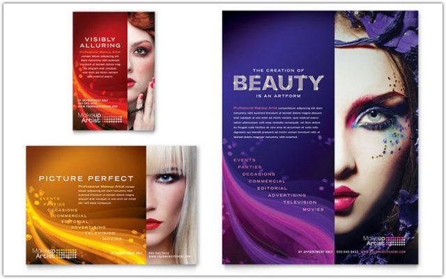 Makeup Artist Flyer & Ad Template