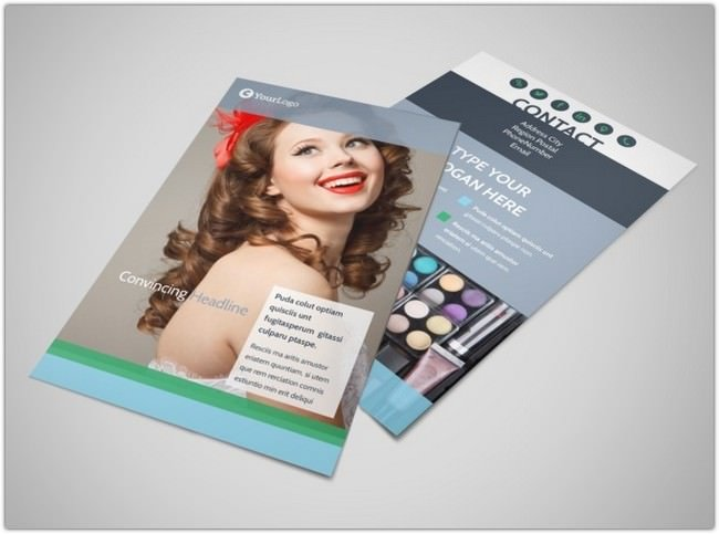 Makeup & Cosmetics Flyer Template 3