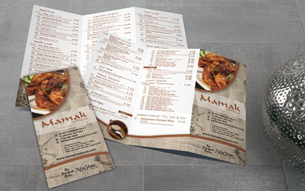 Mamak Malaysia Complete Re-design & Branding
