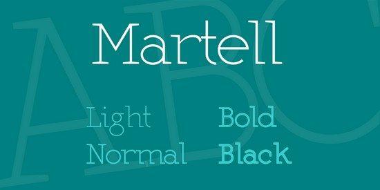 Martell Font Family