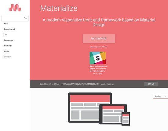 Materialize-Responsive-Front-End-Framework