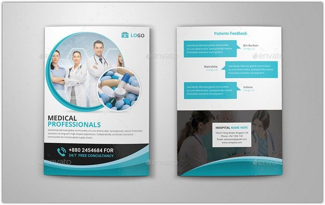 24 realistic bi fold brochure templates 2018 templatefor