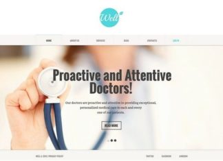 Medical & Health Joomla Template
