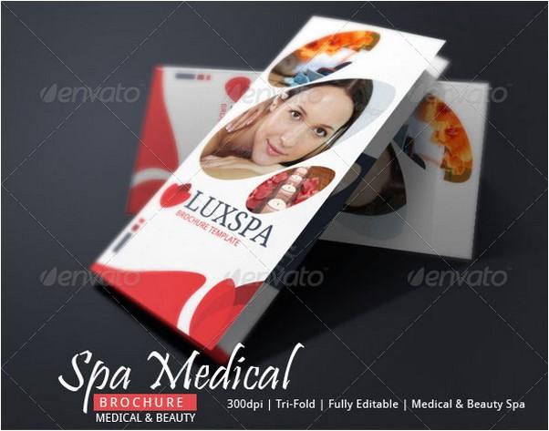 Medical Spa Brochure Template