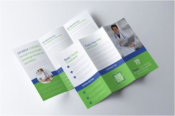 Medical Trifold Brochure # 2