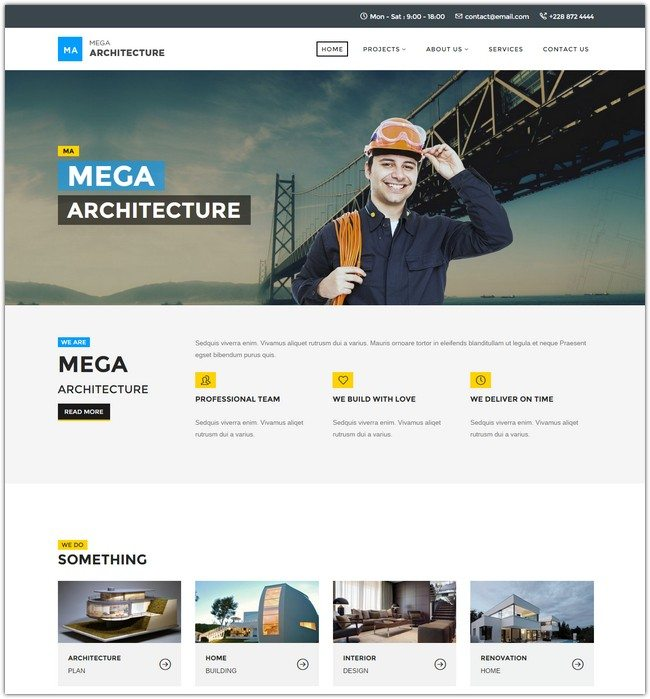 Mega Architecture Construction, Building Template