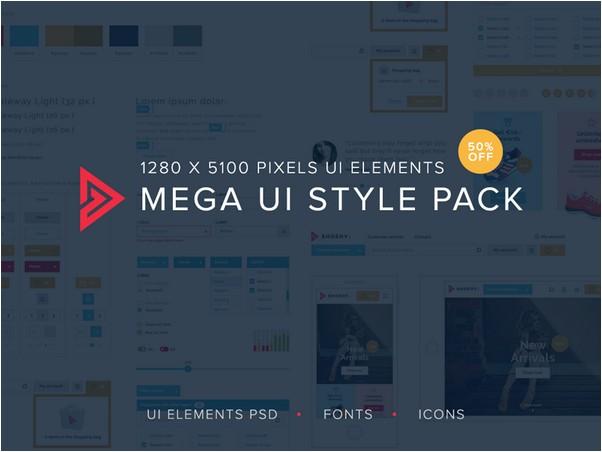 Mega UI style pack