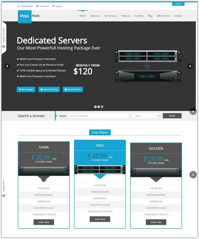 35+ Fantastic Hosting WordPress Themes 2019 - Templatefor