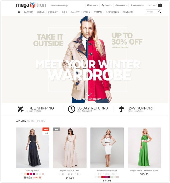 SEO Friendly Website Templates