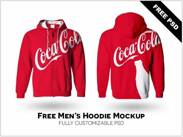 Men's Hoodie Mockup PSD - Free