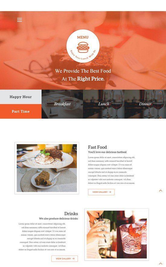 Menu a Restaurant Flat Bootstrap Responsive web template