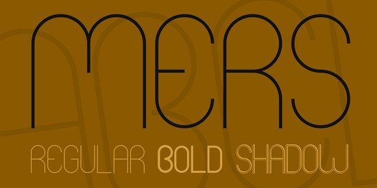 Mers Font Family