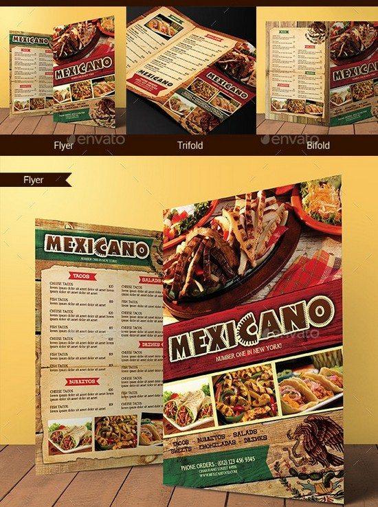 Mexican Food Menu Bundle
