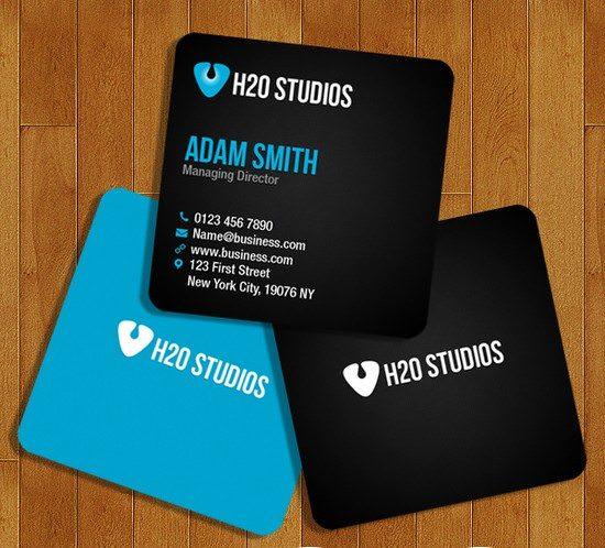 Mini Business Cards