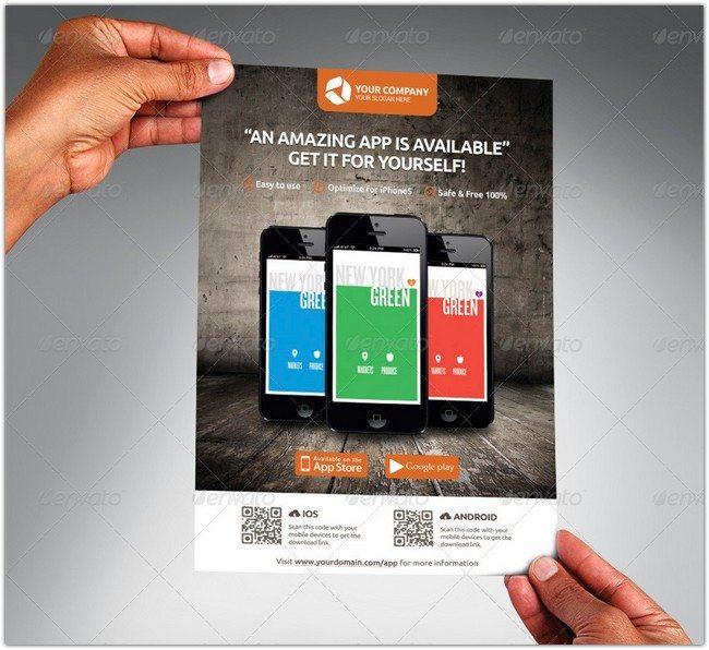 Mobile App Promotion Flyers