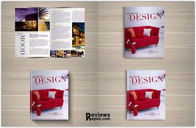 Mock up Design for Fabulous Magazine