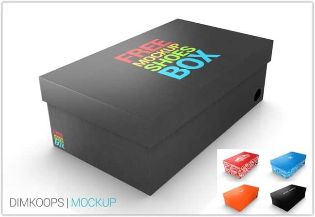 Mockup Shoes BOX