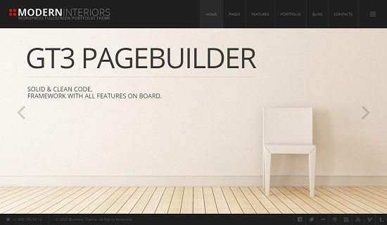 45+ Latest Interior Furniture WordPress Themes 2018 - Templatefor