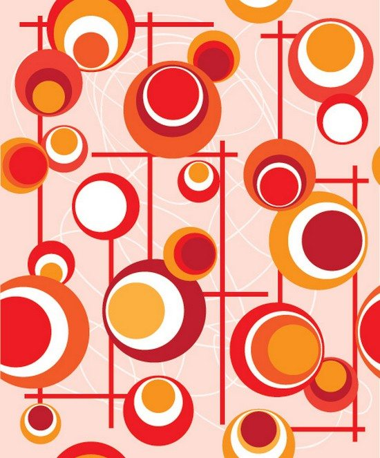 Monday Pattern Vector Graphic