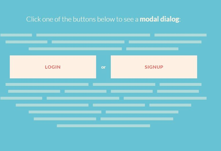 Morphing Buttons Concept