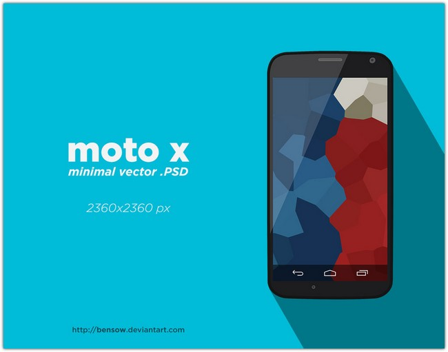 Moto x Vetcor PSD