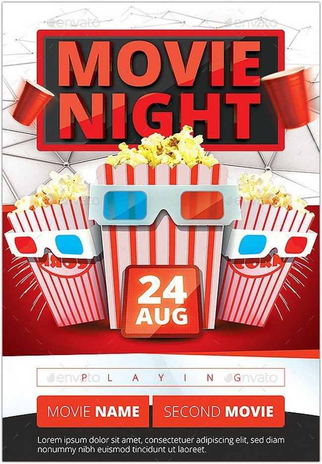 Movie Night Flyer v2