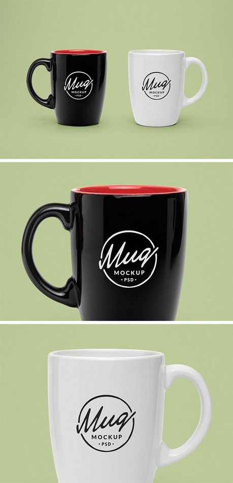 Mug #2 – Free PSD Mock-Up Template