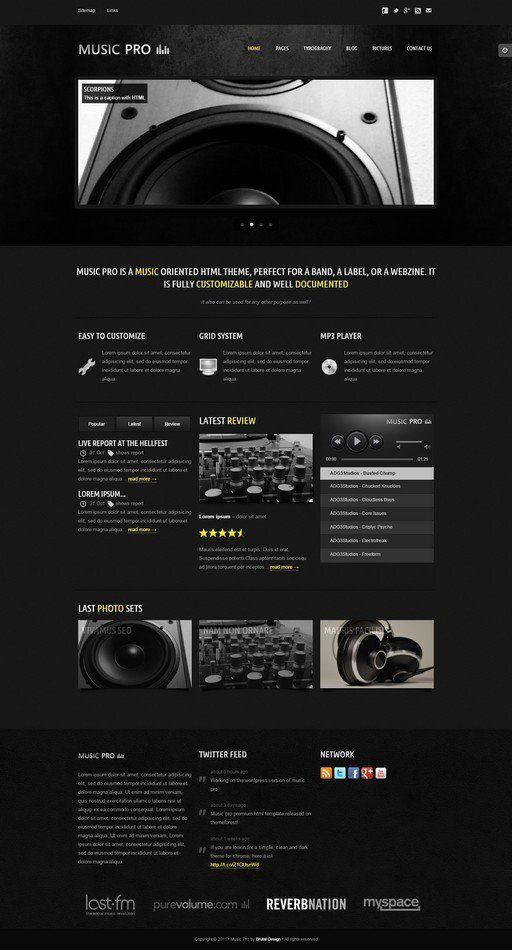 Music-Pro-Music-Oriented-HTML-Template