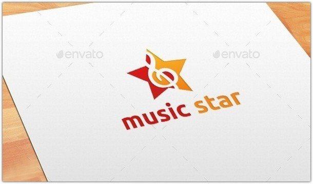 Music-Star-Logo-Template