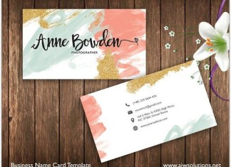 Printable Name Card Template