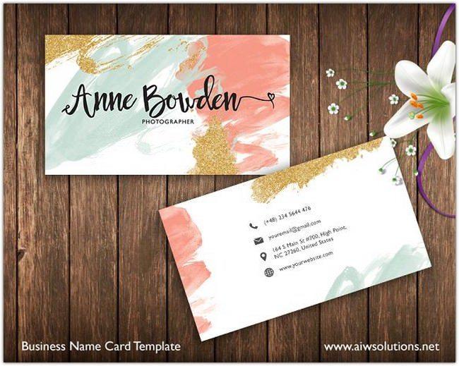 Printable Name Card Template