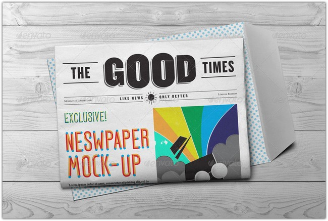 Newspaper Mock-Up # 3