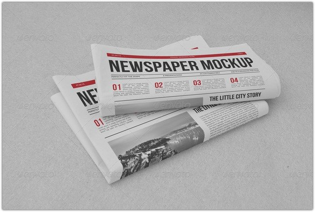 Newspaper Mock-up # 2