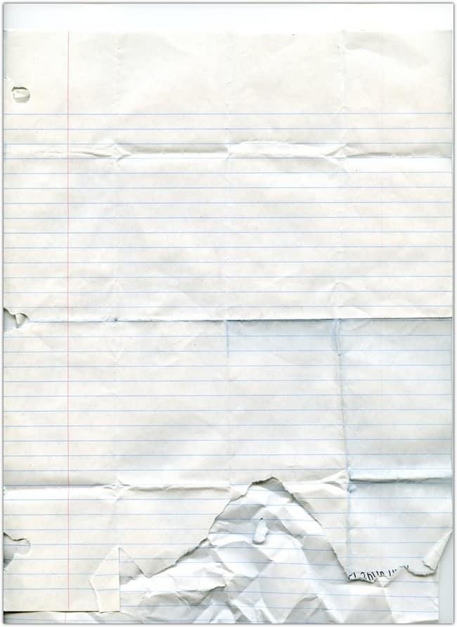Notebook Paper Texture - 3