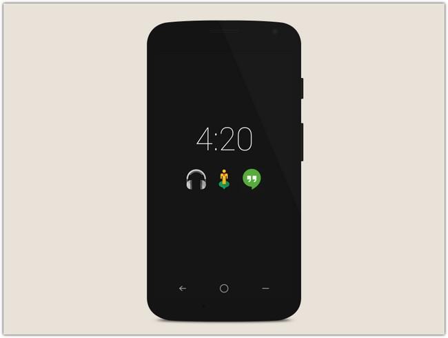 Obsidian Phone PSD