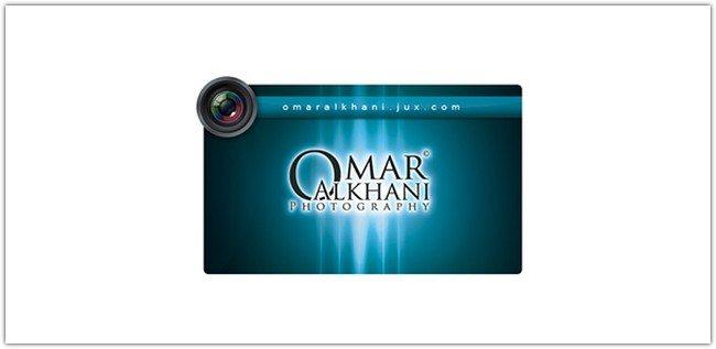 Omar Photographer Business Card