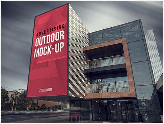 Outdoor Advertising Mock-up