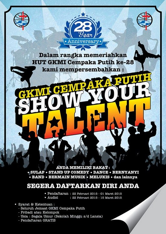 POSTER & FLYER SHOW YOUR TALENT EVENT