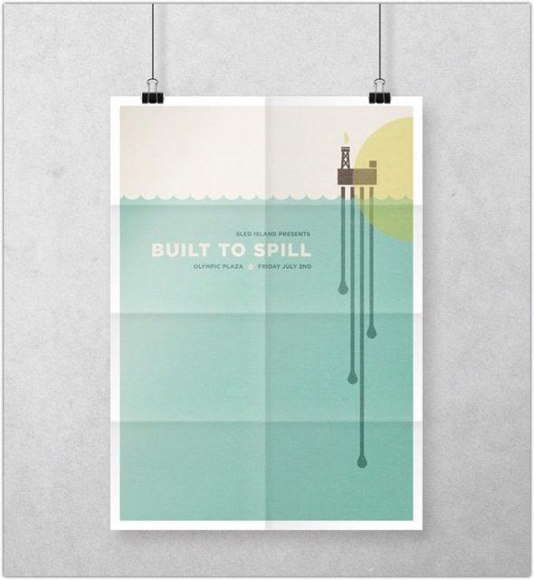 PSD Poster Mockup With Multiple Variations