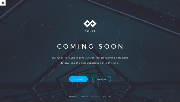 PULSE - Coming Soon Template