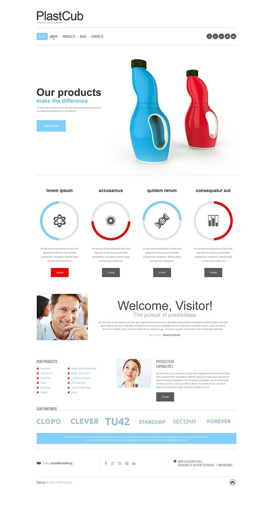 knowledge capture template - packaging website template image collections template