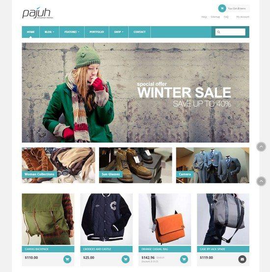 Fashion eCommerce Joomla Template