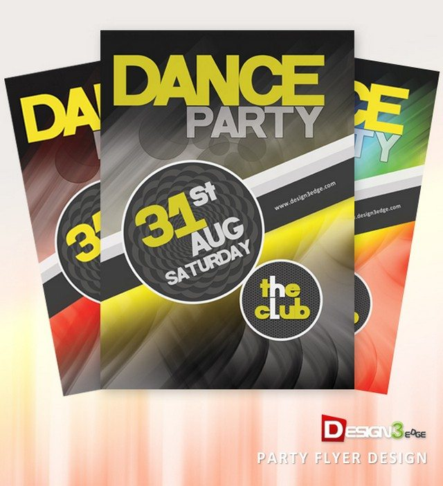 Party Flyer Design (PSD)