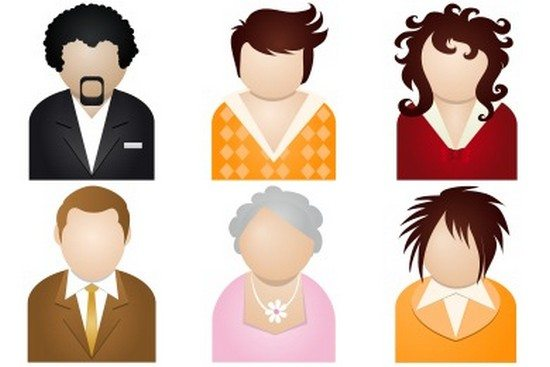 People Icons by DaPino (10 icons)